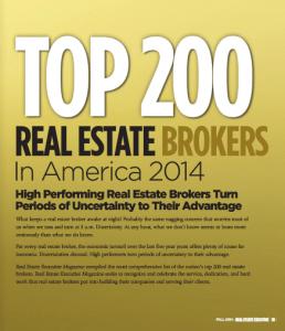 Top 200 Real Estate Brokers in America 2014